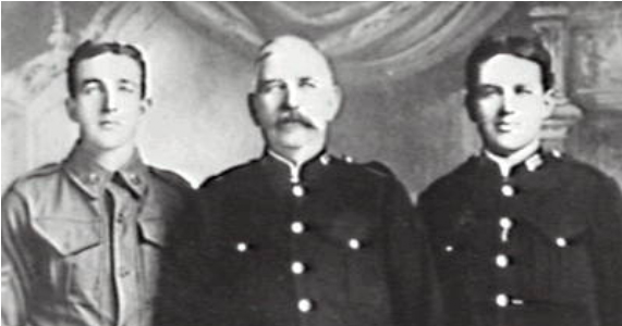 Corrimal's first police officer